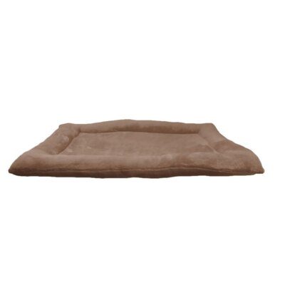 Crate Dog Bed Size: 35 L x 22 W, Color: Brown