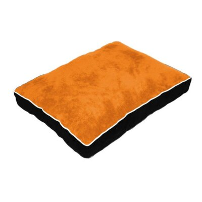 Cuddly Pillow Dog Bed Size: 34 L x 26 W
