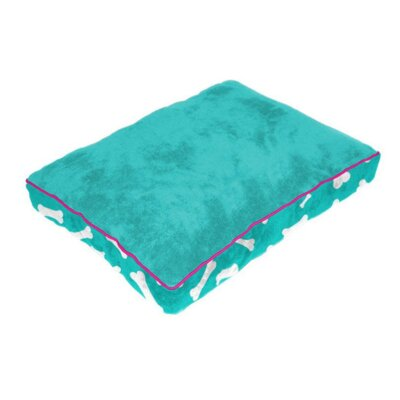 Cuddly Plush Dog Bed Size: 34 L x 26 W