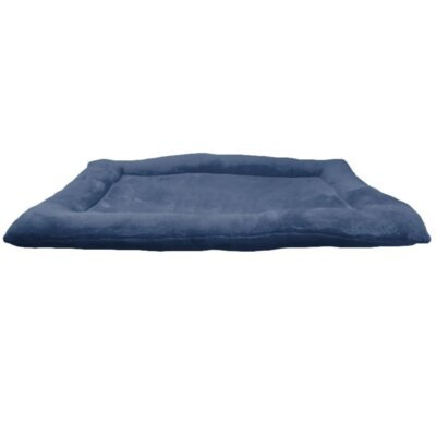 Crate Dog Bed Size: 24 L x 18 W, Color: Navy