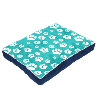Cuddly Plush Dog Bed Size: 40 L x 30 W