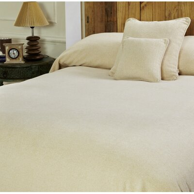 Melange Chenille Bed Coverlet Size: Twin