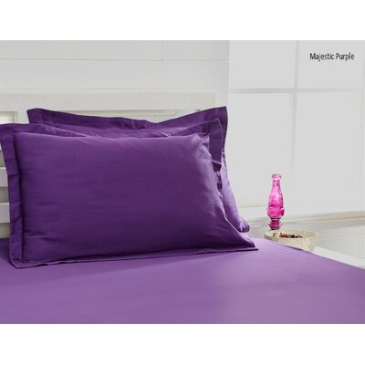 300 Thread Count 100% Cotton Sheet Set Size: Queen, Color: Majestic Violet