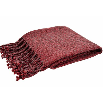 Sandy Melange Throw Color: Turkey Red