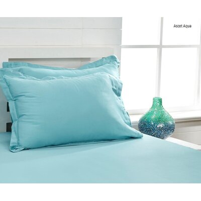 300 Thread Count 100% Cotton Sheet Set Color: Ascot Aqua, Size: King