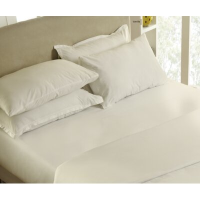 300 Thread Count 100% Cotton Sheet Set Size: Queen, Color: Vanilla