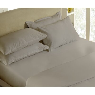 300 Thread Count 100% Cotton Sheet Set Size: King, Color: Grey Marble