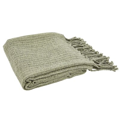 Sandy Melange Throw Color: Modern Green