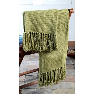 Baby Beehive Throw Color: Zuni Green
