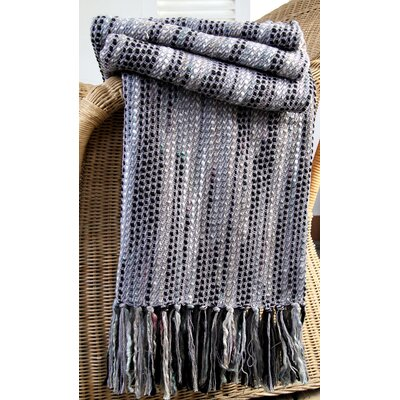 Bosky Slub Throw Color: Slate Grey