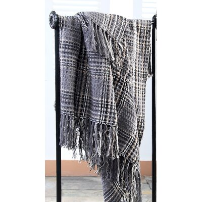 Placard Plaid 100% Cotton Throw Color: Penter
