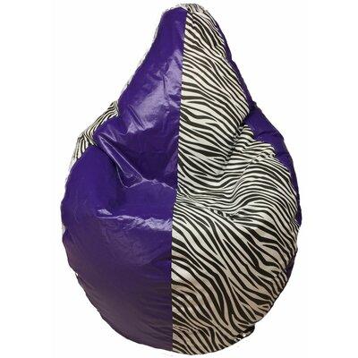 Bean Bag Chair Color: Purple