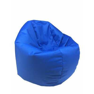 Indoor/Outdoor Bean Bag Chair Upholstery: Blue