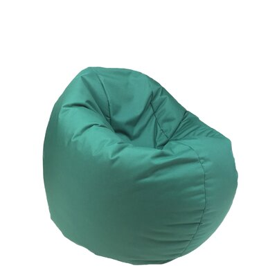 Indoor/Outdoor Bean Bag Chair Upholstery: Green