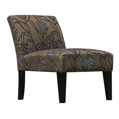 Lotus Flower Armless Living Room Slipper Chair