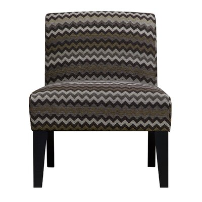 Slipper Chair Upholstery: Brown