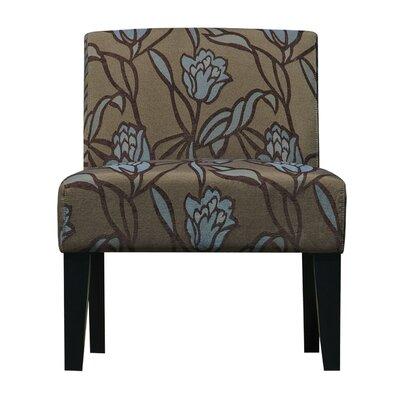 Slipper Chair Upholstery: Flower