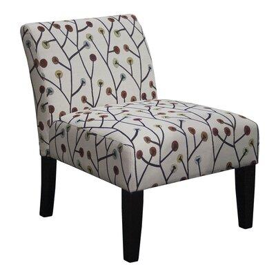 Whimsical Armless Living Room Slipper Chair
