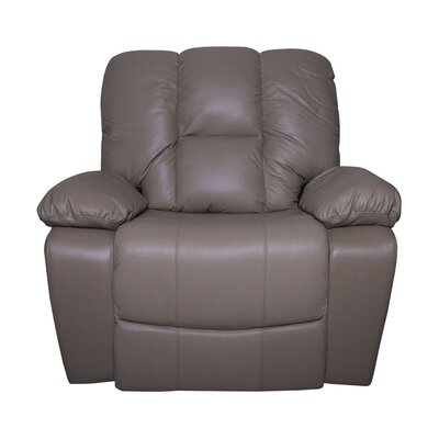 Shawnette Manual Rocker Recliner Upholstery: Taupe