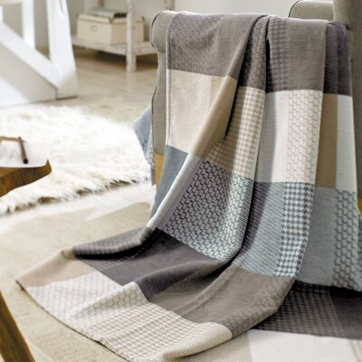 Solare Pure Patchwork Oversized 100% Cotton Throw Blanket