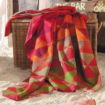 Sorrento Triangle Jacquard Oversized Throw Blanket