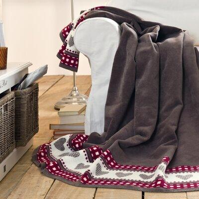 Sorrento Hearts Oversized Throw Blanket