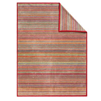 Messina Sunset Stripe Oversized Throw Blanket