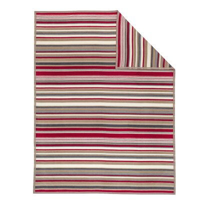 Messina Stripes Galore Oversized Throw Blanket