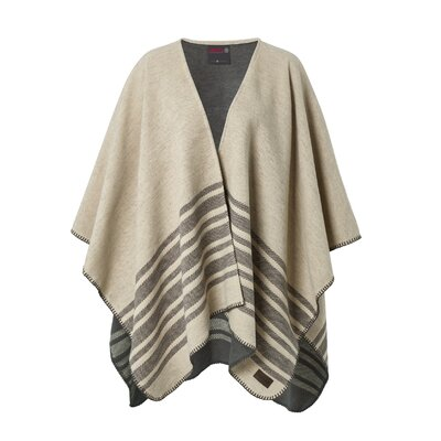 Cotton Blanket Poncho