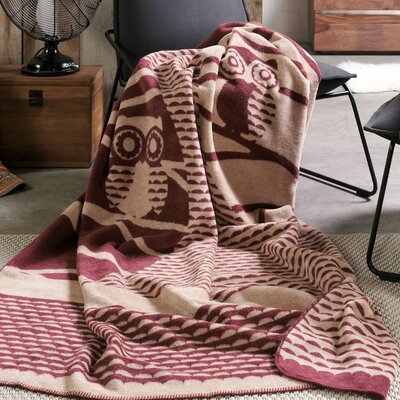 Sorrento Owl in Tree Oversized Throw