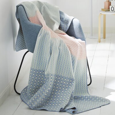 Rose and Serenity Dreams Oversized Cotton Throw