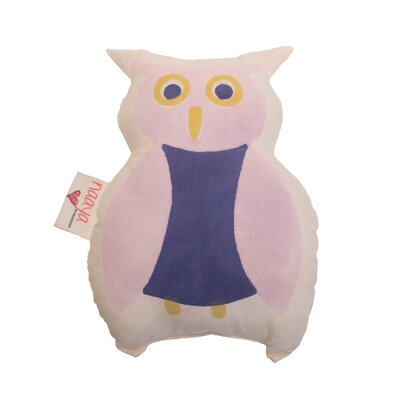 Owl Pillow Size: Small