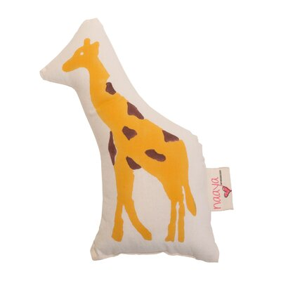 Giraffe Pillow Size: Small