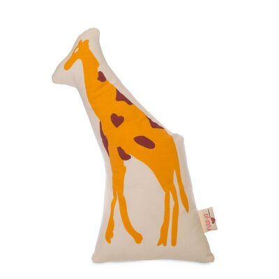 Giraffe Pillow Size: Large