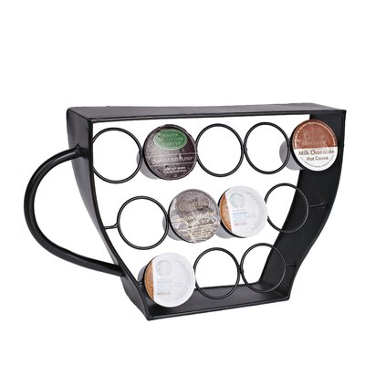 12 Pod Coffee Capsule Display Rack 92253