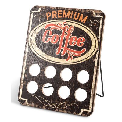 Lone Elm Studio 8 Pod Single Serve Coffee Capsule Holder 92905