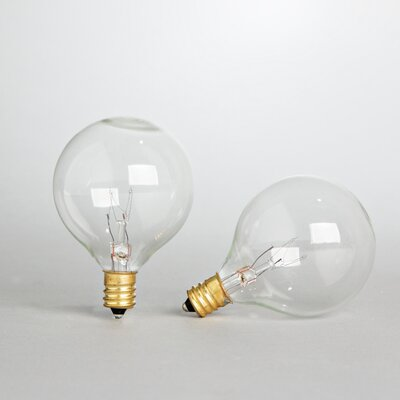 5 Watt Incandescent Light Bulb Pack of 2