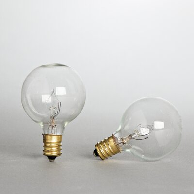 7 Watt Incandescent Light Bulb Pack of 2