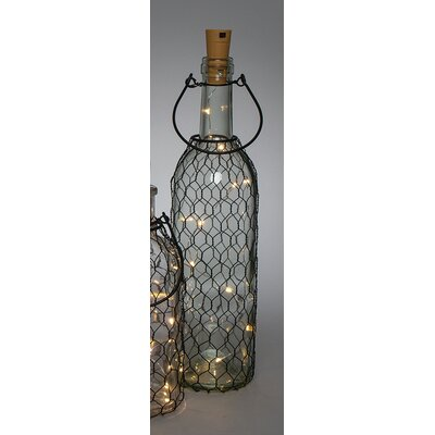 Battery Operated Lighted Decorative Bottle 93748