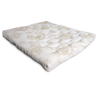 6 Cotton Futon Mattress Size: Full