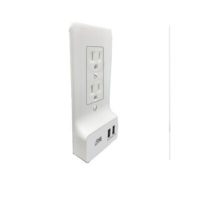 USB Smart Wall Socket Plate