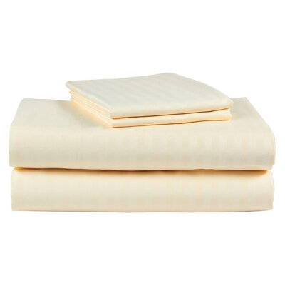 300 Thread Count 100% Cotton Sheet Set Color: Beige