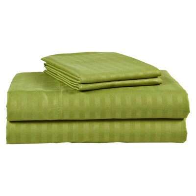 300 Thread Count 100% Cotton Sheet Set Color: Sage