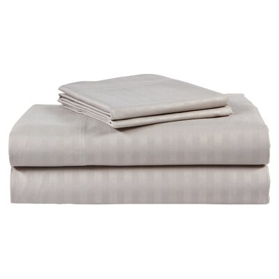 300 Thread Count 100% Cotton Sheet Set Color: Silver