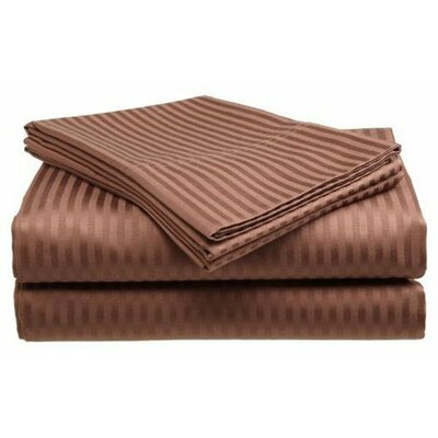 300 Thread Count 100% Cotton Sheet Set Color: Chocolate