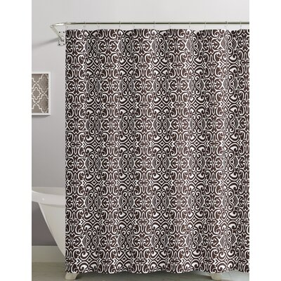 Cotton Shower Curtain Color: Chocolate