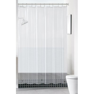 Mildew-Free Peva 6 Gauge Heavy Weight Shower Liner