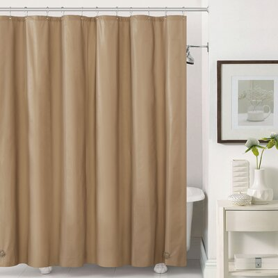Mildew-Free Peva 6 Gauge Heavy Weight Shower Liner Color: Taupe