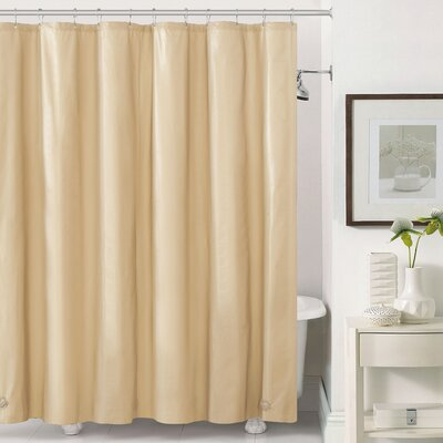 Mildew-Free Peva 6 Gauge Heavy Weight Shower Liner Color: Beige