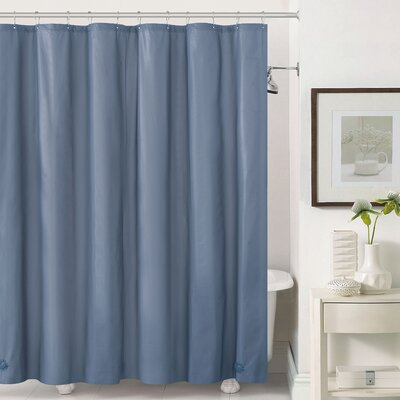 Mildew-Free Peva 6 Gauge Heavy Weight Shower Liner Color: Slate